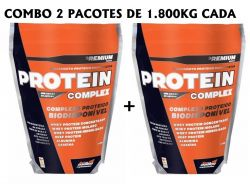 Combo 2 Pacotes Protein Complex (1800kg Cada) - New Millen