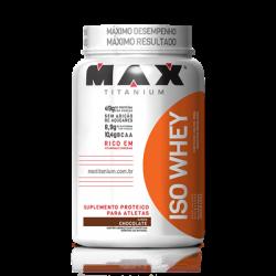 Iso Whey Protein 900g  Proteína Isolada - Max Titanium