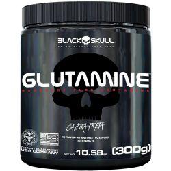Glutamina Caveira Preta (300g) - Black Skull | Imunidade Máxima!