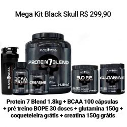 MEGA KIT Black Skull