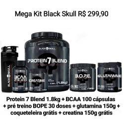 MEGA KIT Black Skull
