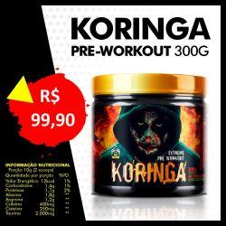 Pré Workout KORINGA 300G - Red Series
