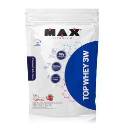 Top Whey 3W (1.800 kg) - MAX TITANIUM