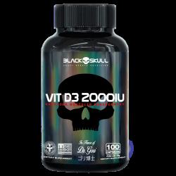 Vitamina D3 2.000UI (100 caps) Black Skull