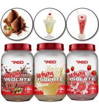 Whey Isolate Hidrolyzed (900g) - Red Series