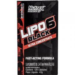 Lipo 6 Black Ultra Contrentrado 120 Capsulas - Nutrex