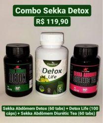 Combo Sekka Detox ( 03 potes)